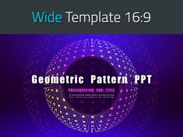 Geometric Pattern PPT Wide