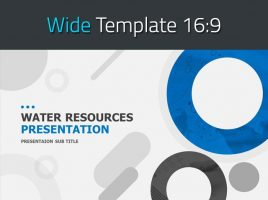 Water Resources Presentation Template Wide