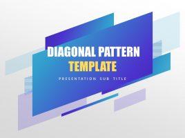 사선 패턴 무료 템플릿