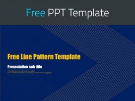 라인 패턴 무료 템플릿