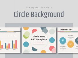 Free Circle Background Template
