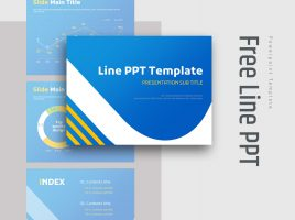 Free Line PPT Template