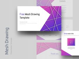 Free Mesh Drawing Template