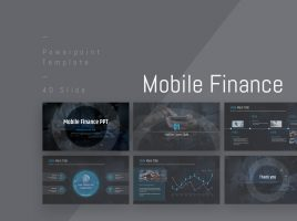 Mobile Finance PPT Wide