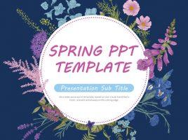 봄 피피티 템플릿