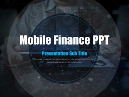 Mobile Finance PPT