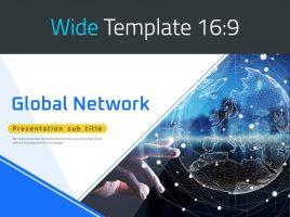 글로벌 네트워크 와이드 피피티