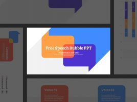 Free Speech Bubble PPT