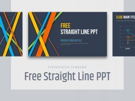 Free Straight Line PPT
