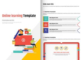 Online learning Template Vertical