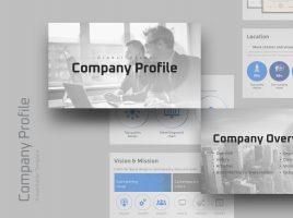 Global Group company Profile Template
