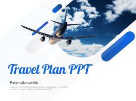 여행계획 프레젠테이션 템플릿