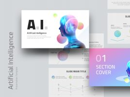 AI Presentation Template Wide