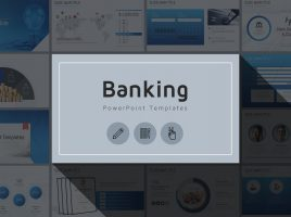 Banking PowerPoint Template Wide