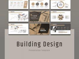 건물 설계 와이드 피피티