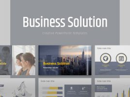 Business Solution Template Wide