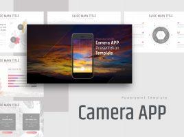 Camera APP Presentation Template Wide