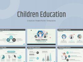 어린이 교육 와이드 프레젠테이션