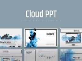 Cloud PPT Wide