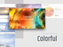 Colorful Presentation Template Wide