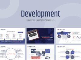 Development PPT Template Wide