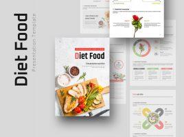다이어트 식단 세로형 피피티