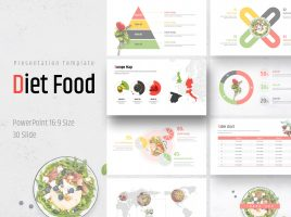 Diet Food PPT Wide