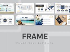 Frame Presentation Template Wide