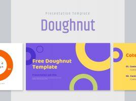 도넛 무료 템플릿
