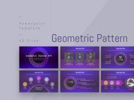Geometric Pattern PPT Wide