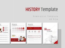 역사 세로형 템플릿