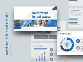 부동산 투자유치 템플릿