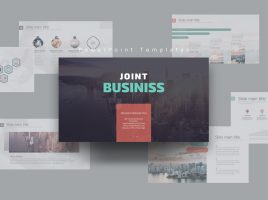 Joint Business Presentation Wide