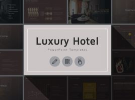 고급 호텔 마케팅 기획서 템플릿