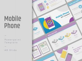 Mobile Phone PPT Wide