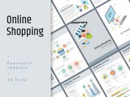 온라인 쇼핑 세로형 PPT