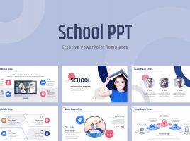 School PPT Template Wide