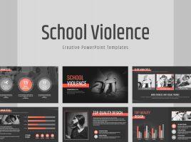 학교 폭력 와이드 템플릿