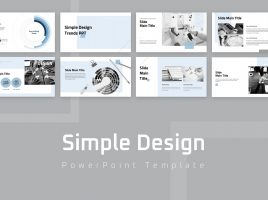 Simple Design Trend PPT Wide