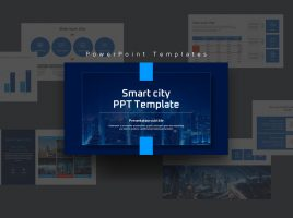 Smart City PPT Template Wide