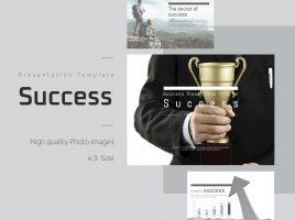 성공 관련 테마의 파워포인트