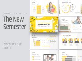 New Semester Presentation Wide