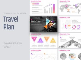 Travel Plan PPT  Wide