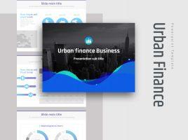 도시 금융 비즈니스 템플릿