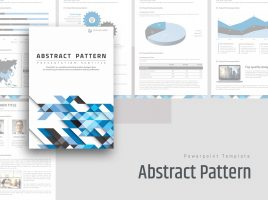 Abstract Pattern PPT Vertical