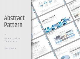Abstract Pattern PPT Wide