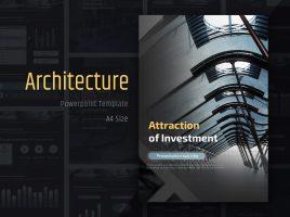 건축 투자유치 프레젠테이션 세로형템플릿