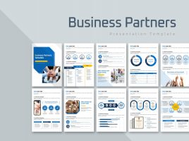 Business Partners Template Vertical