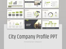 City Company Profile PPT Template