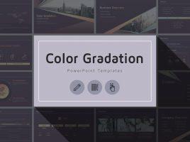 Color Gradation Company Profile Template